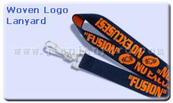 Woven Logo Lanyard